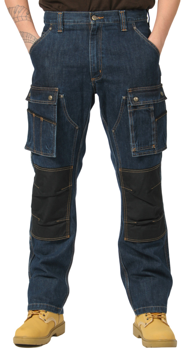 Jean Carhartt EB229 Denim Pant Multipoches Tech