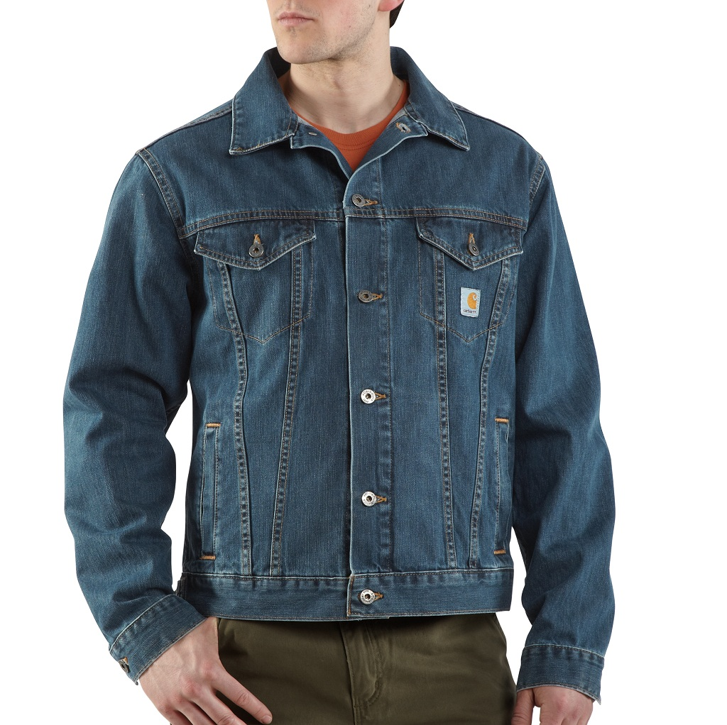 J291 DENIM JEAN JACKET UNLINED
