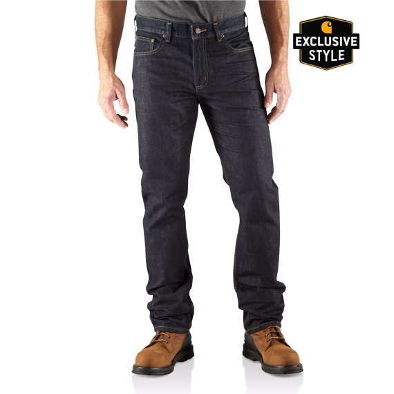 Jean Slim Fit Straight Leg CARHARTT  /Clear Rinse