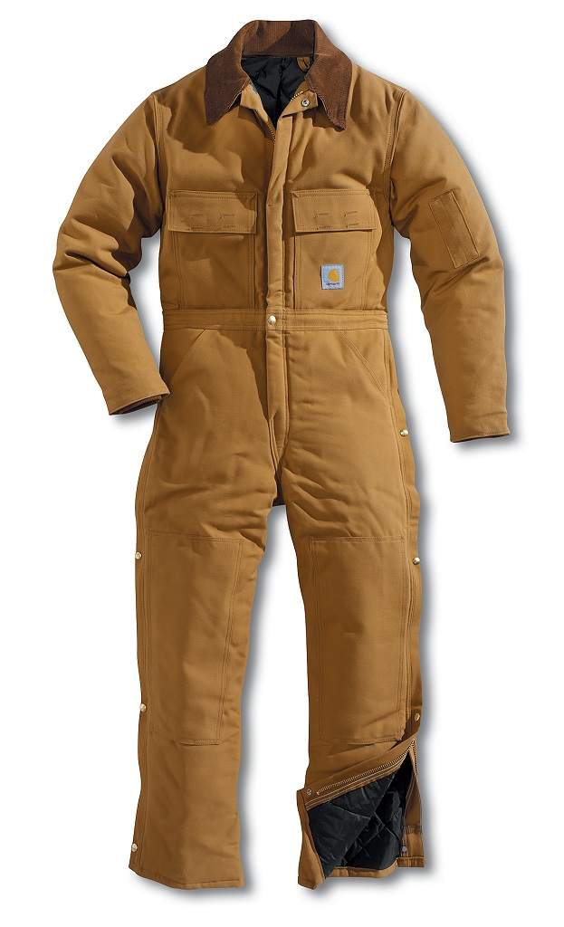 Carhartt X02 Men�s Duck Coverall/Arctic Quilt-Lined